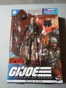 GI Joe Classified Series Major Bludd Cobra Island Target Exclusive In Hand MIMB