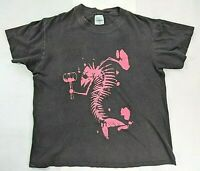 Vintage 1987 Fishbone Bone Crusher Band Tee T-Shirt Large USA