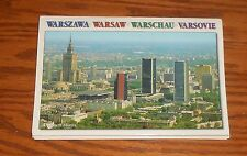 Warsaw Postcards Unused Lot of 6 in Booklet 1997 Poland