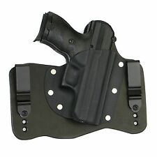 FoxX Holsters Leather & Kydex IWB Hybrid Holster Hi-point C9 Black Right Conceal