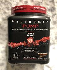 Performix Pump, l Pre- Workout, Tangerine Flavor, 40 Servings **GNC EXCLUSIVE**