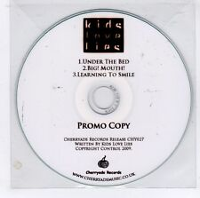 (GJ615) Kids Love Lies, Under The Bed - 2009 DJ CD