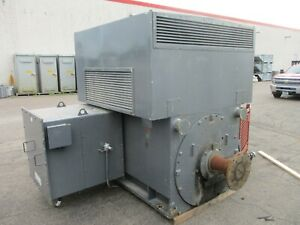 Westinghouse / TECO  AC Motor ANCK-TK001 2000HP 900RPM 4000V FR: 560C Used
