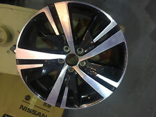 GENUINE PEUGEOT 3008 18 INCH DIAMOND CUT ALLOY WHEEL 9809687377