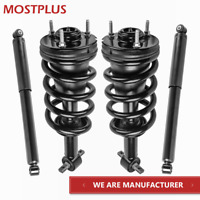 MOSTPLUS Front /& Rear Complete Strut /& Spring Assemblies Shock Absorbers 172263 172264 Compatible for 2004-2009 Mazda 3 /& 2006-2010 Mazda 5 Set of 4