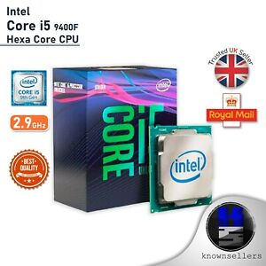 Intel Core i5 9400f 2.9ghz Hexa Core CPU-BRANDNEU