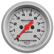 Auto Meter 4344 Ultra Lite Electric EGT  Pyrometer Gauge Kit 2 1/6 0-1600 Degree