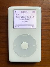 Apple iPod Classic - 4th Generation White (20Gb) A1059 Used, Working, Monochrome