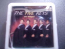 THE FIVE KEYS ON STAGE  ALBUM COVER    BADGE PIN