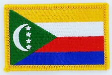 COMOROS COMORAN FLAG PATCHES backpack  PATCH BADGE IRON ON NEW EMBROIDERED