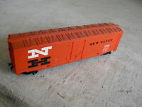 Vintage HO Scale Tyco New Haven Boxcar LOOK