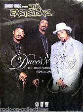 Snoop Dogg Tha Eastsidaz 2001 Duces N Trayz Original Promo Poster