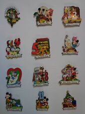 Disney Pin DLR Twelve Days of Christmas 2002 Limited Edition - Set of 12 Pins