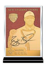 2006 Draft Pick REGGIE BUSH NFL Feel The Game 23K GOLD ROOKIE Card