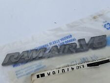 Pontiac Grand Am 99-05 Front Fender RAM AIR V6 Emblem 22619420