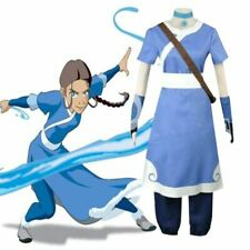 Katara Cosplay Costume Uniform Avatar The Last Airbender Girl Halloween Outfits