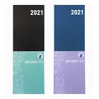 koalaplan Hardcover A4 Jahreskalender 2021| Planer Terminplaner Terminkalender