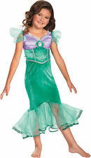 Ariel Costume for Girls New size 4-6X LIttle Mermaid by Disguise 59189