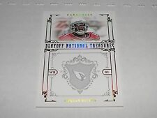 2008 National Treasures ANQUAN BOLDIN #51 Gold/5 San Francisco 49ers Florida St