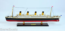 RMS Titanic High Quality scale 1:350 - Handcrafted Wooden Cruise Ship Model
