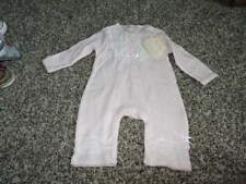 NWT NEW BABY BISCOTTI 3M 3 MONTHS PINK LACE OUTFIT