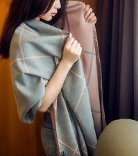 AU SELLER Warm Women's Scarf Shawl Checked Plaid Tartan Wrap Neck Pashmina Soft