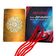 Red String Bracelet x5 from Jerusalem & King Solomon Guarding & Protection Seal