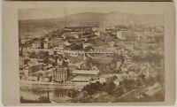 Ayuntamiento A Identificar Vista Carte de visite CDV Foto Vintage Albúmina