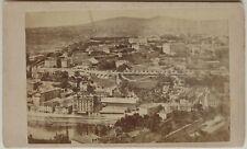 Ville à identifier Panorama Carte de visite Cdv Photo Vintage Albumine