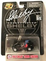 Shelby Collectibles 1962 Shelby Cobra CSX2000 Black NEW 1:64 Buy More Save More!