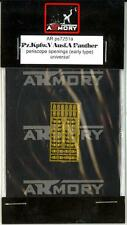 Armory Models 1/72 PANZER V PANTHER TANK PERISCOPE OPENINGS Photo Etch Details