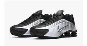 Nike Shox R4 (Mens Size 9) Shoes 104265 045 Metallic Silver