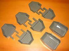 LEGO 8 pièce de 30299 30300 de 4980 OldDkGray alt gris foncé