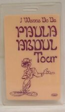 Paula Abdul - Original Concert Tour Laminate Backstage Pass
