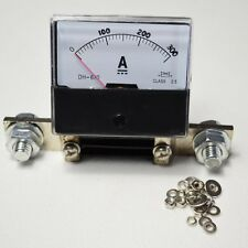 New DC 0-300A Shunt Analog Amp Panel Meter Current Ammeter Top Quality
