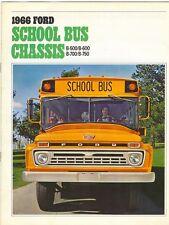 1966 Ford School Bus Brochure B-500/B-600/B-700/B-750