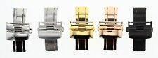 14-16-18-20-22-24MM DEPLOYMENT BUCKLE CLASP FOR LEATHER BAND STRAP BREITLING #2