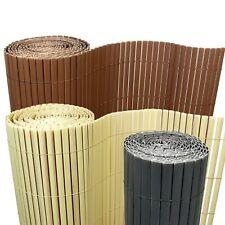 8€/m² Bambus PVC Sichtschutzmatte Sichtschutz Zaun Balkon Garten Blickschutz