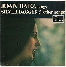 "JOAN BAEZ SINGS SILVER DAGGER & OTHER SONGS 4 TRACK 7"" E.P. 1960 FONTANA"