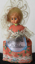 Doll souvenir in Italian (Rome) a national suit, 5 inches. Free shipping.