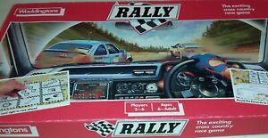 Waddington's Rally Motor racing Board Game