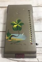 Vintage 60s Mini Metal Rolodex Telephone Number Directory Address Book Japan Fl