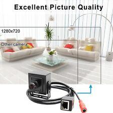 1Mp 720P Mini Spy Hidden Ip Camera 2.1mm Lens P2P Network Box Camera Onvif H.264