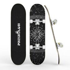 "Pro Trick Complete Skateboard 31""x 8"" Double Kick Concave Skateboards Kids Gift"