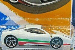 HOT WHEELS VHTF 2012 ALL STARS SERIES FERRARI 458 ITALIA