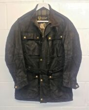 Belstaff Trail Master Professional Vintage Made in England Wax Cotton Jacket.
