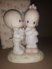 """Nib Precious Moments Figurine """"Love Is From Above� #521841"""