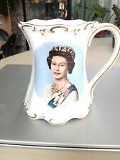 Queen Elizabeth 30th Accession to Throne Commemorative Mug St George bone china,
