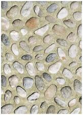 XD Stones Pebble Contact Paper Beach Shelf Liner 4.7 FT.x 18 in