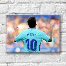 Lionel Leo Messi Poster A4 NEW Football Argentina Team 10 #2